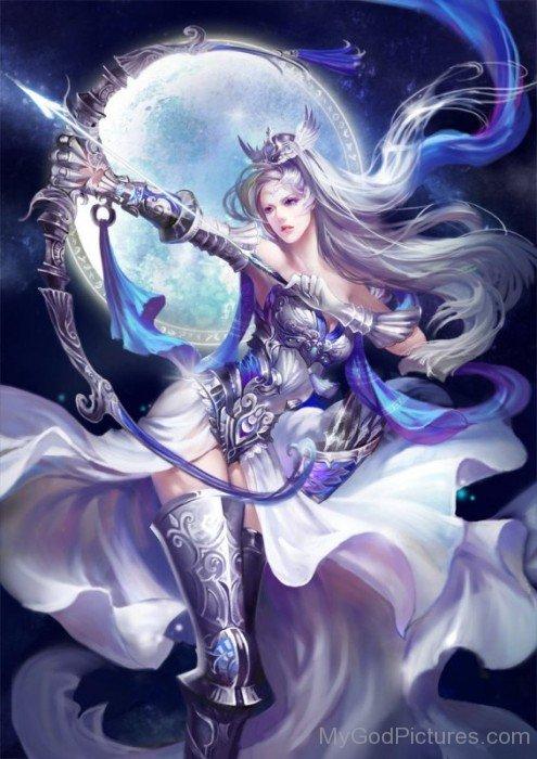 Goddess Diana Image-vc114