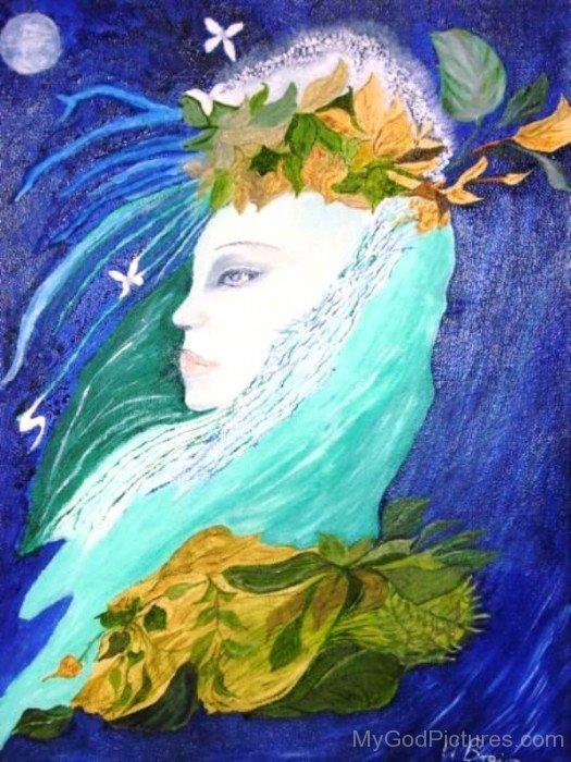 Goddess Diana Painting-vc115