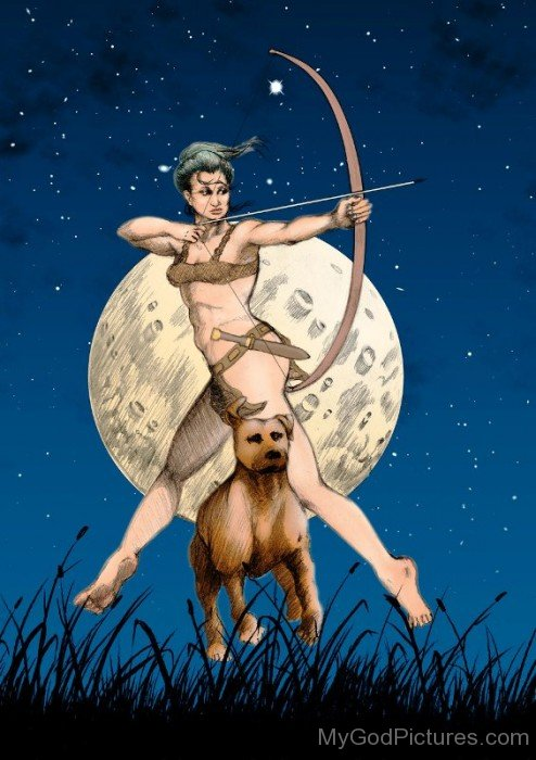 Goddess Diana Picture-vc116