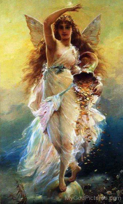 Goddess Fortuna Image-tb706