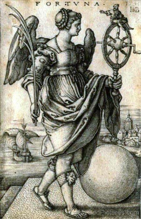 Goddess Fortuna Picture-tb708