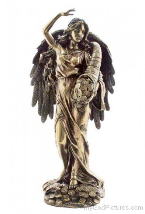 Goddess Fortuna Statue-tb709