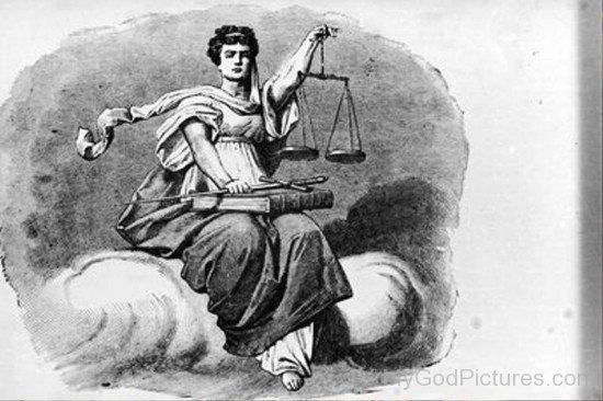 Goddess Justitia Photo-hl704