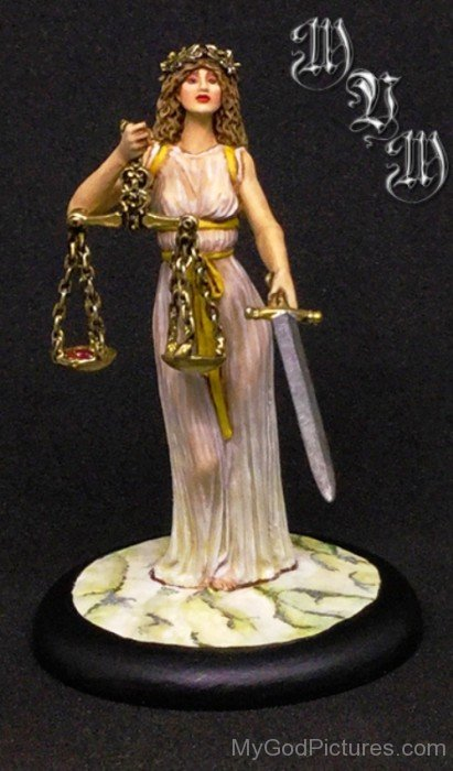 Goddess Justitia Picture-hl705