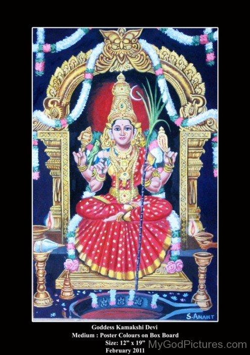 Goddess Kamakshi Devi-ty202