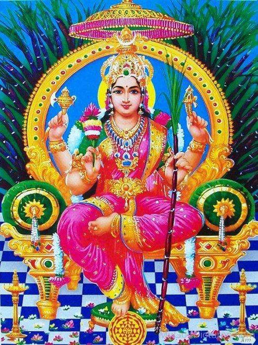 Goddess Kamakshi Image-ty203