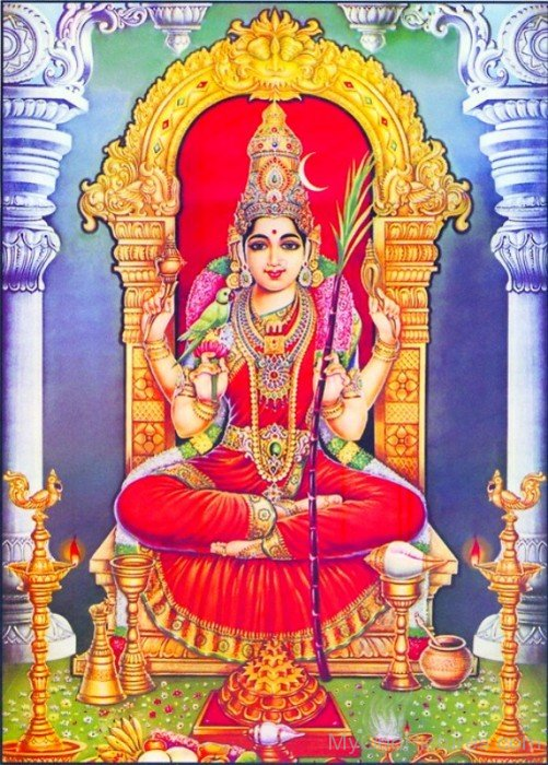 Goddess Kamakshi Picture-ty205