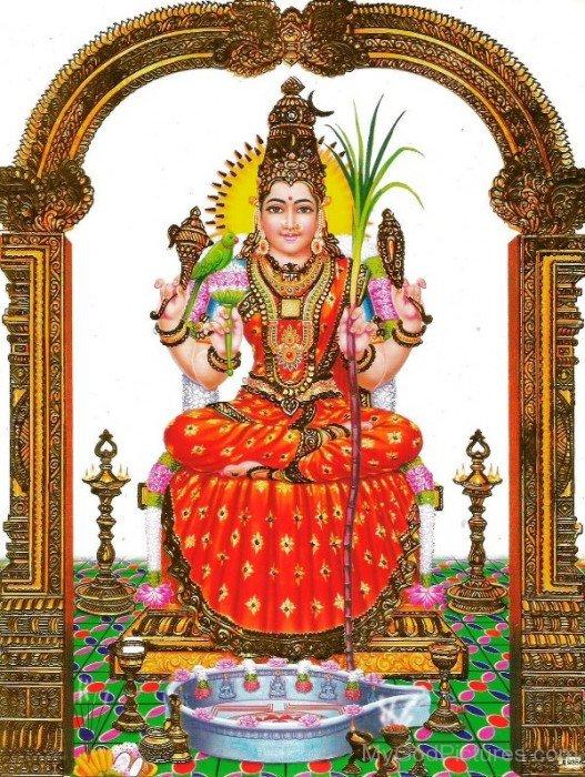 Goddess Kamakshi-ty206