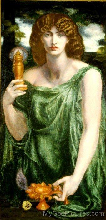 Goddess Mnemosyne-TB403