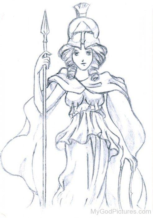 Goddess Of Craft Athena-rg513