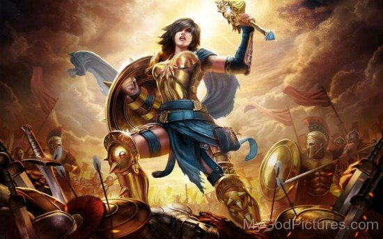 Goddess Of War Bellona-df810