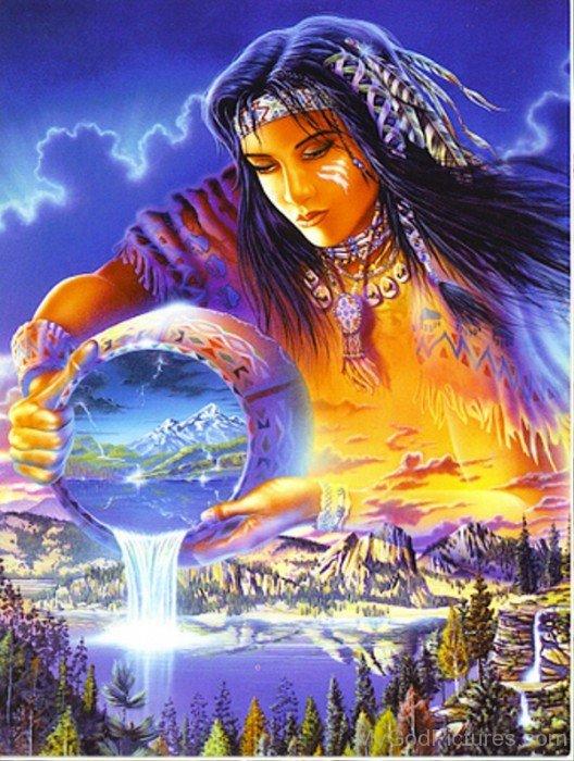 Goddess Of Wealth Abundantia-re308