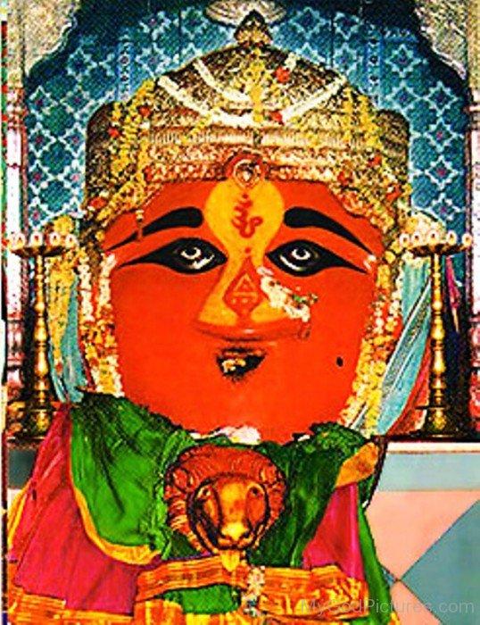 Goddess Renuka Image-tg31