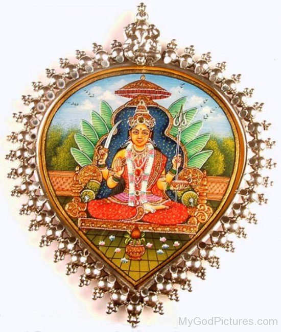 Goddess Santoshi Pendant-bv903