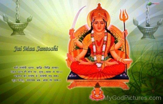 Goddess Santoshi-bv904
