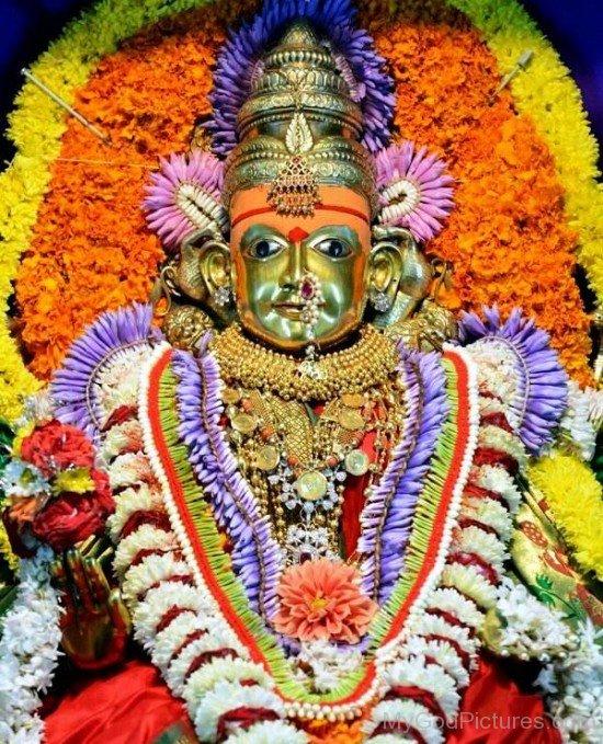 Goddess Shantadurga Image-wq11