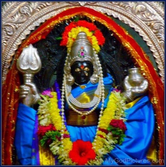 Goddess Shantadurga Picture-wq12