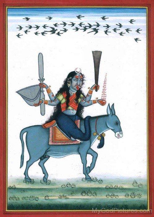 Goddess Shitala Image-rg502