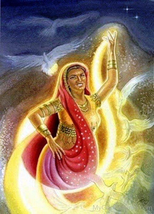 Goddess Ushas Image-yb11