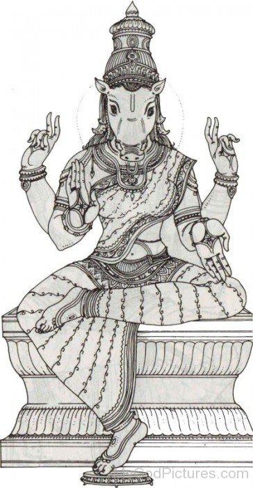 Goddess Varahi Picture-fd305