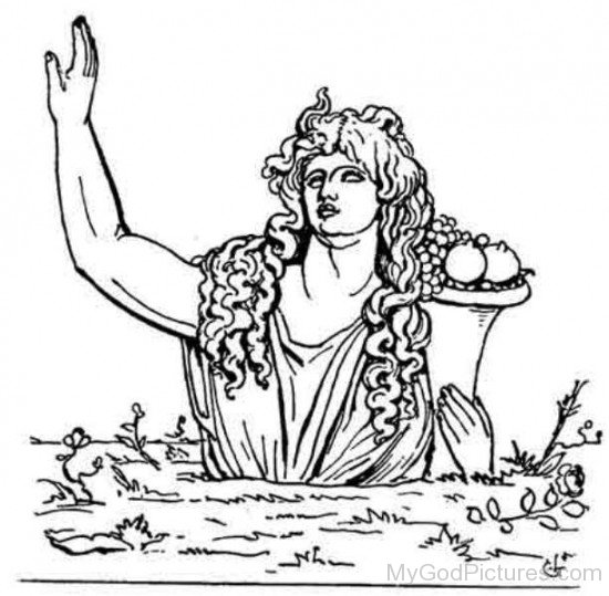 Greek Goddess Gaia-fj215