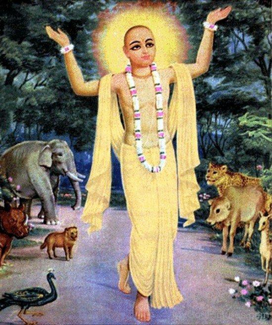 Hindu Monk Chaitanya Mahaprabhu-fd720
