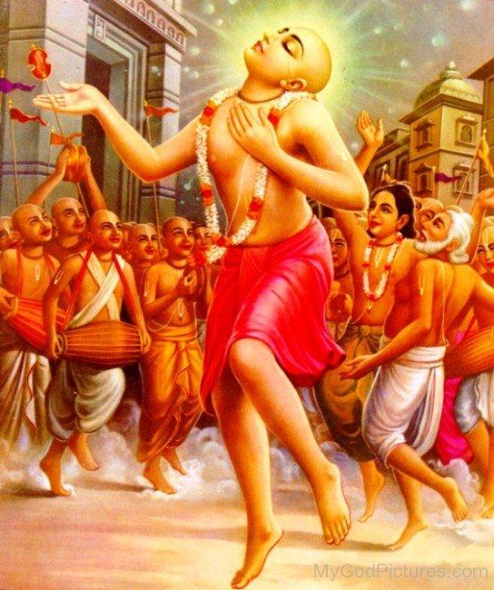 Image Of Chaitanya Mahaprabhu-fd721