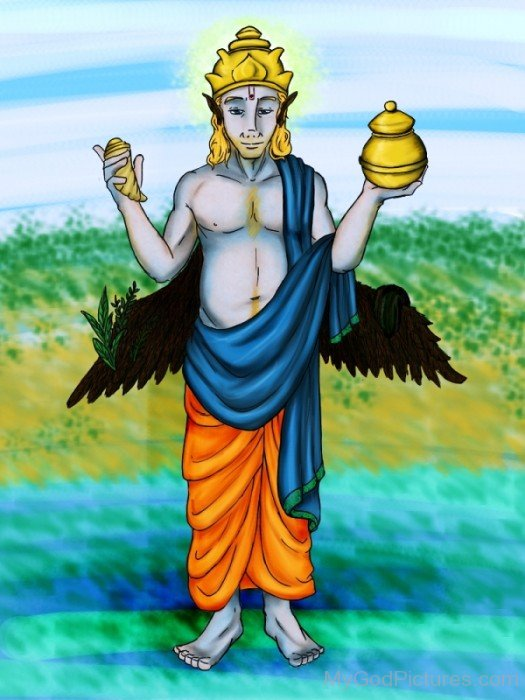 Image Of Dhanvantari-yu210