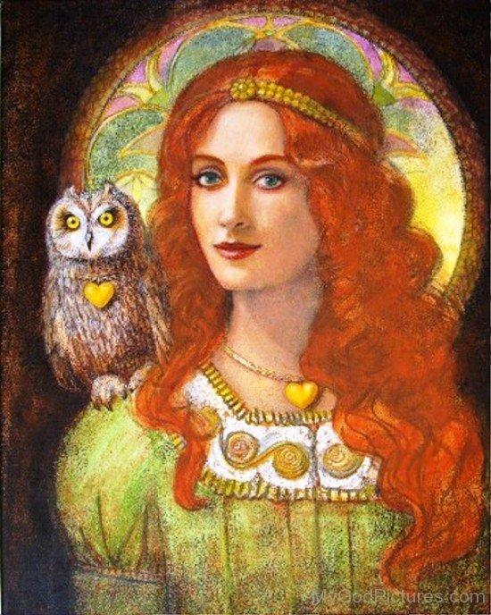 Image Of Goddess Athena-rg516