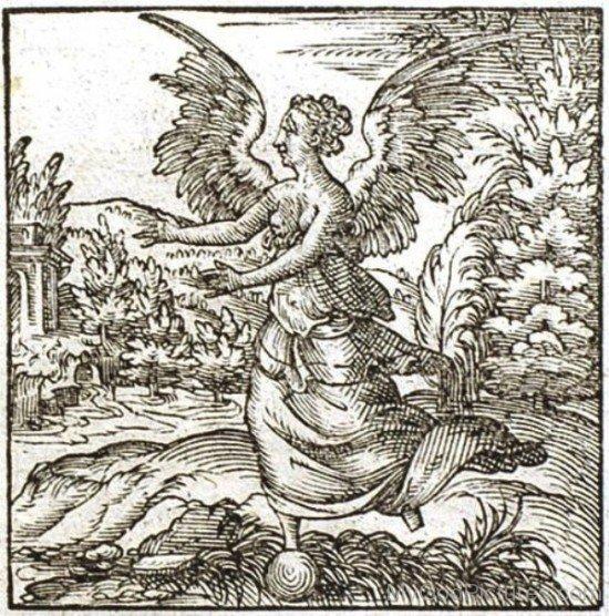 Image Of Goddess Fortuna-tb712