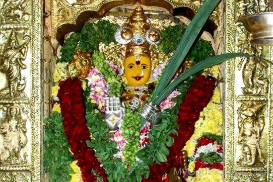 Image Of Goddess Kanaka Durga-da11