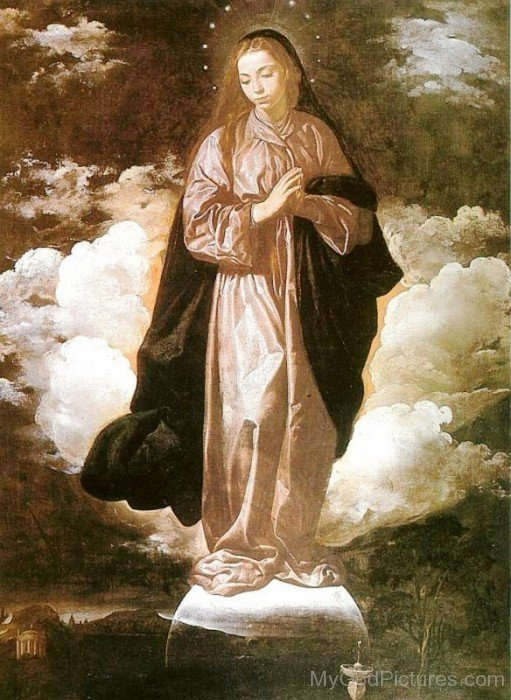 Image Of Goddess Mary