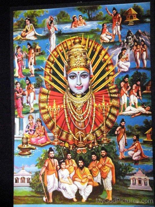 Image Of Goddess Renuka-tg35