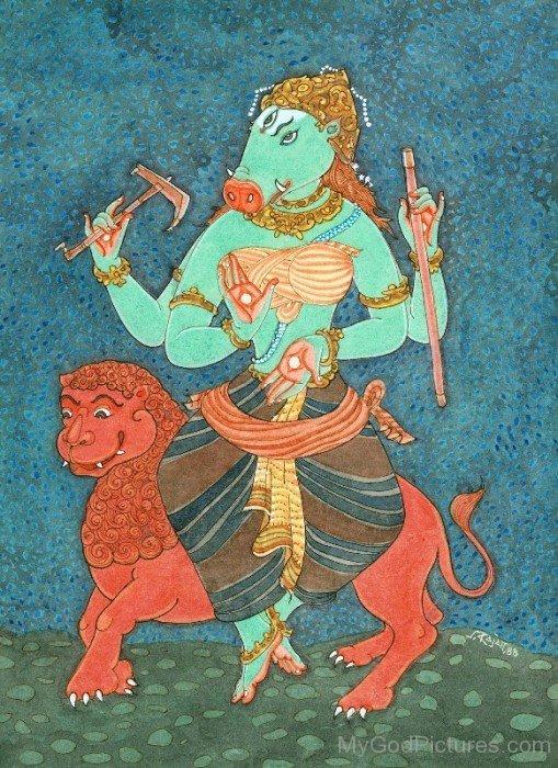 Image Of Goddess Varahi-fd309