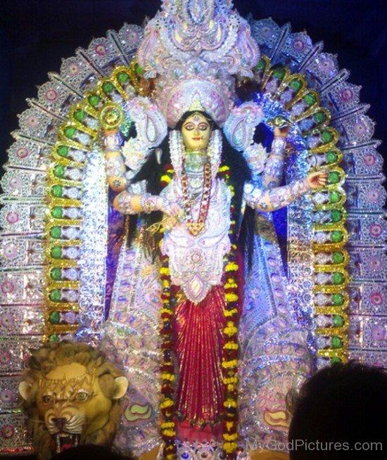 Jagaddhatri Goddess Photo-ed23