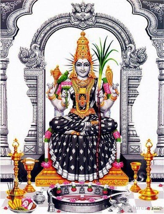 Kamakshi Goddess Image-ty207