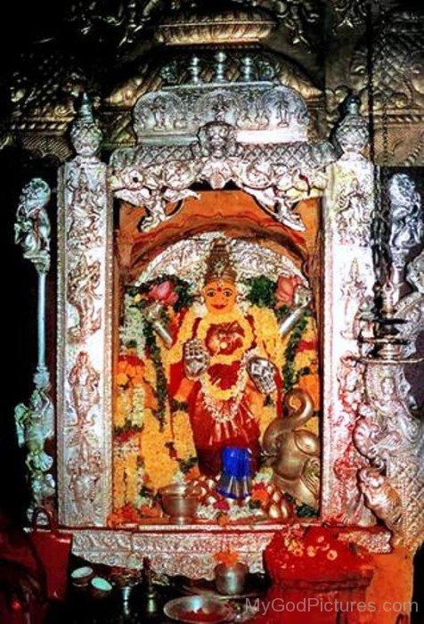 Kanaka Durga Goddess Picture-da13