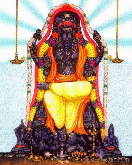 Lord Brhaspati Picture-fr310