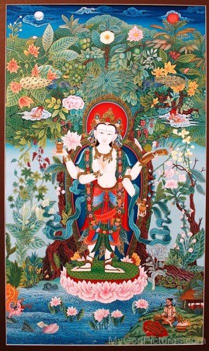Lord Dhanvantari Picture-yu212