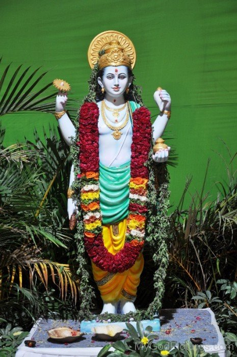 Lord Dhanvantari Statue-yu213