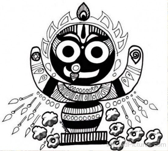 Lord Jagannath Image-we211