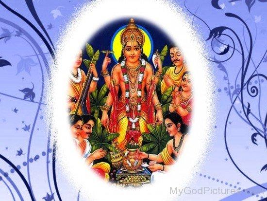 Lord Satyanarayana Image-ws207