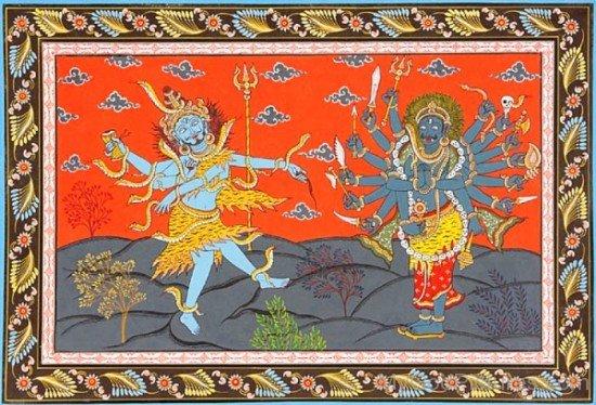 Lord Shiva And Virabhadra-uk804