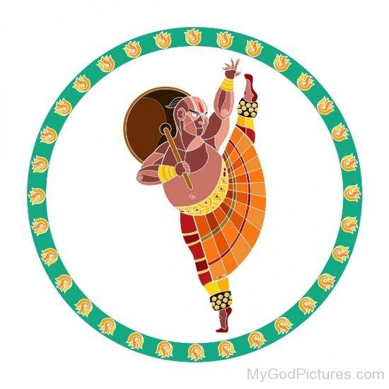 Lord Vamana Image-bg304