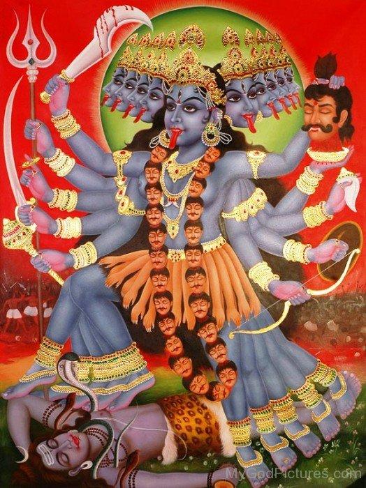 Mahakali Goddess-gm812