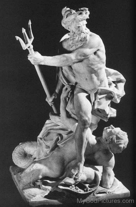 Neptune Statue-mu716