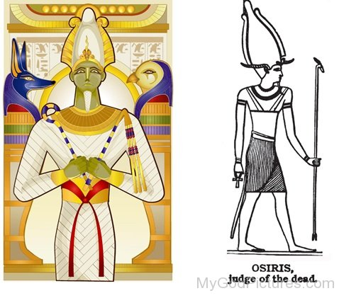 Osiris,Judge Of The Dead