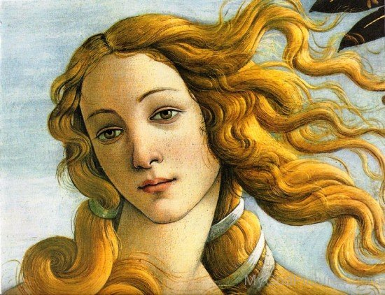 Painting Of Aphrodite-wd408