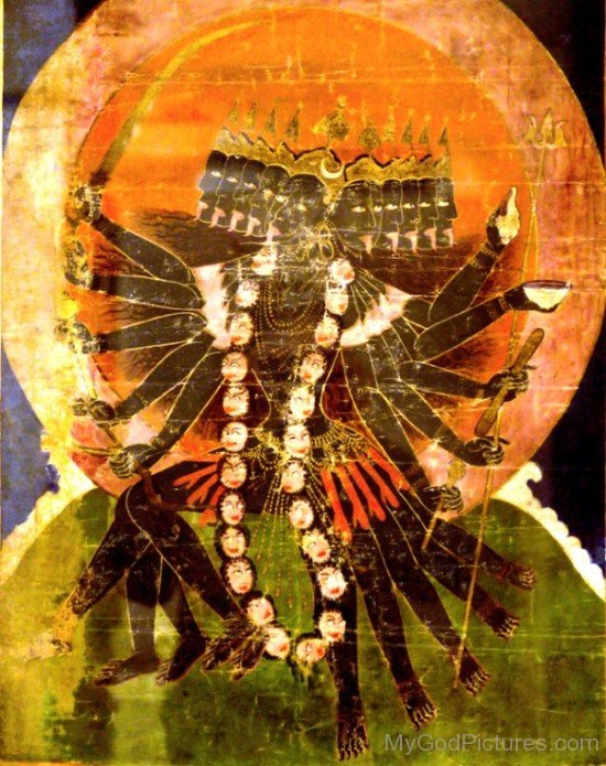 Painting Of Mahakali-gm816