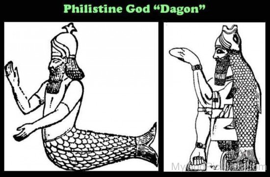 Philistine God Dagon-gt409